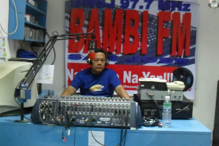 Ptr. Nick Alcaide in the Radio Ministry