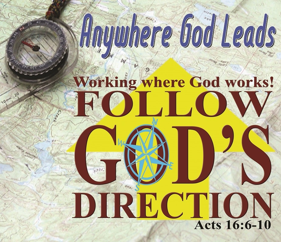 UCC's 36th Year Theme: Anywhere God Leads, Follow God's Direction