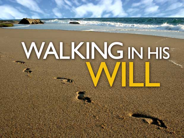 Walk in God's Will