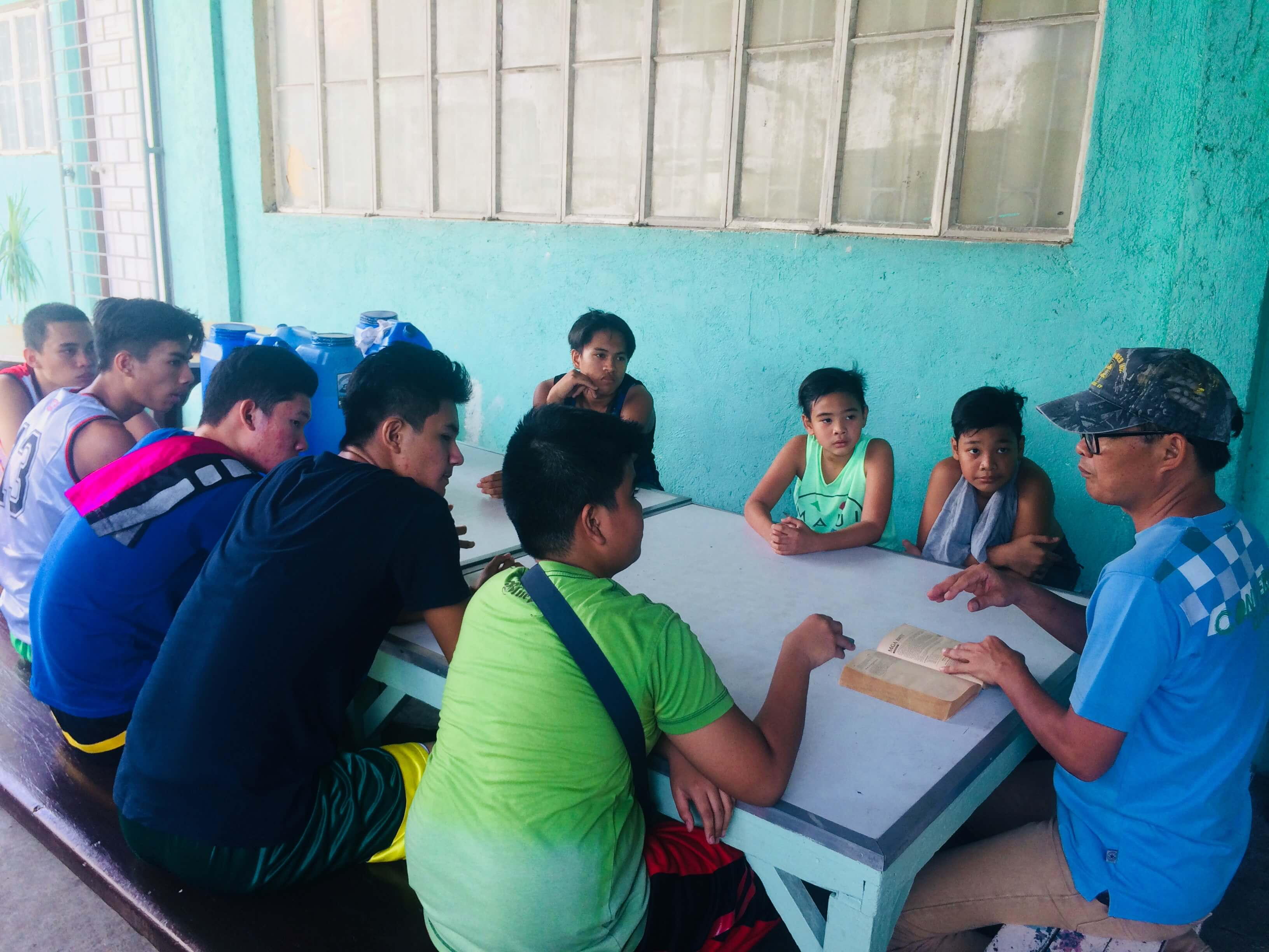 Bible Basketball League Team Devotion led by Bro. Ramil - May 1