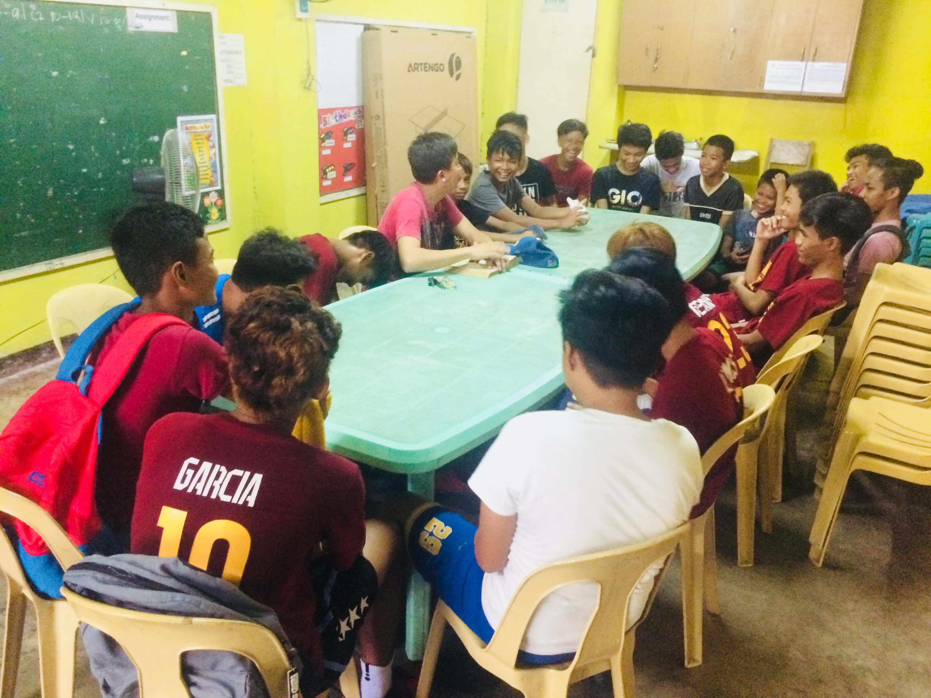 Bible Basketball League Team Devotion led by Bro. Yancy - May 1