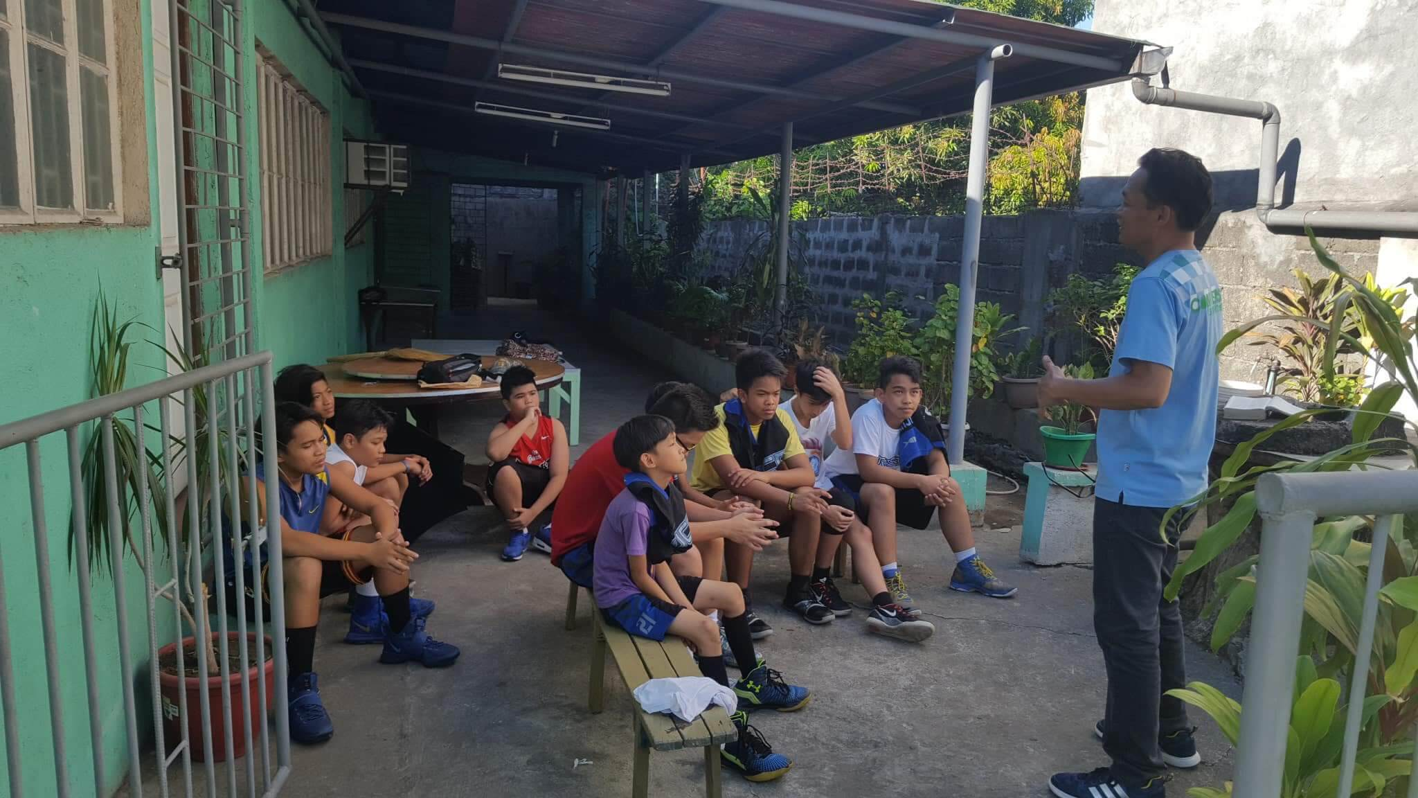 Bible Basketball League Team Devotion led by Bro. Rmail - April 28